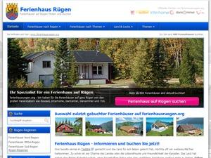 ferienhausruegen.org premium WordPress theme