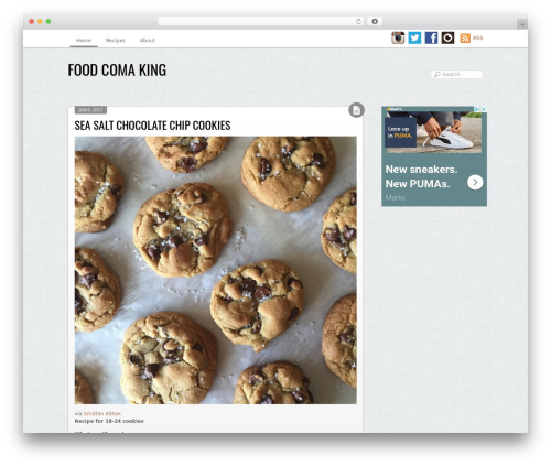 Grido food WordPress theme - foodcomaking.com