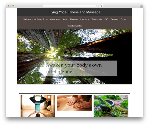 isis WordPress template free - flyingyogafitness.com