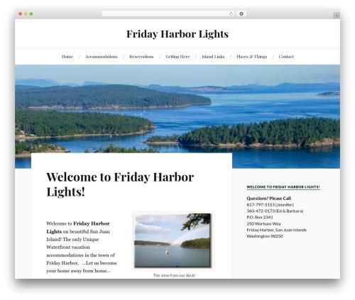 Lovecraft WordPress template free - fridayharborlights.net