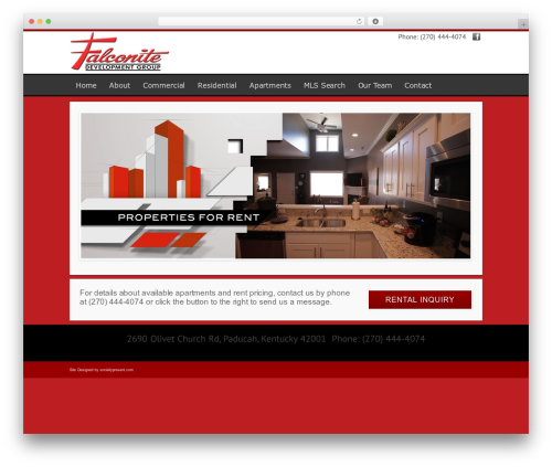 Modular best WordPress theme - falconiteapartments.com