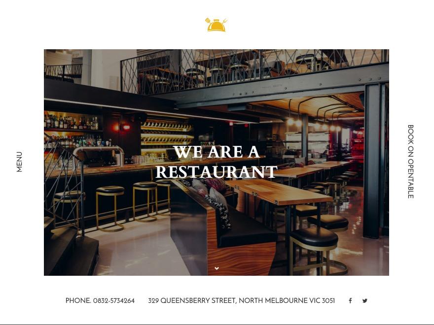 NEM best restaurant WordPress theme