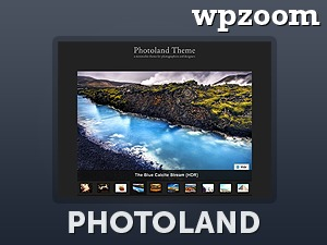 Photoland WordPress theme