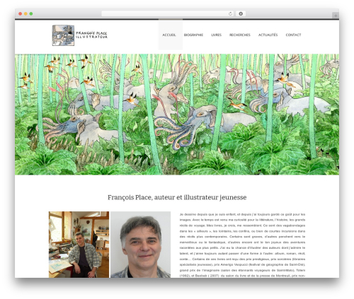 Rover WordPress page template - francois-place.fr