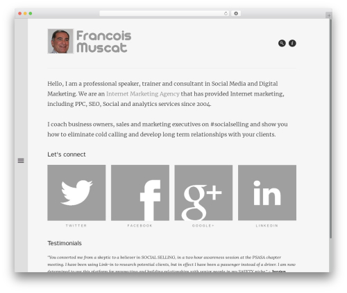 Free WordPress Comments Evolved for WordPress plugin - francoismuscat.co.za