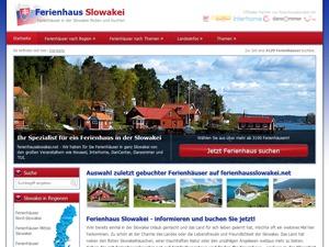 Template WordPress ferienhausslowakei.net