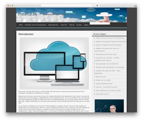 WordPress template MxS - fildump.se