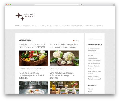 WordPress template ShopAndBuy - fieradelsapore.it