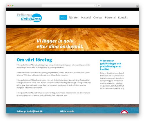 WordPress theme Altefur - fribergsgolv.se