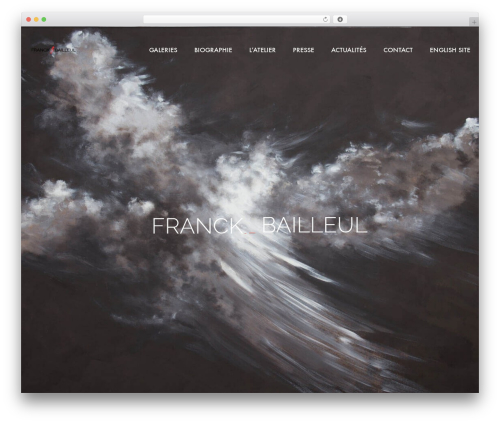 WordPress theme Mo - franckbailleul.com