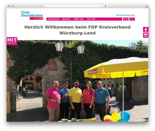 WP template FDP - fdp-wuerzburg-land.de