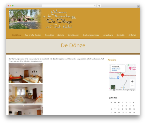 WP template WP Doppio - ferienwohnung-widdel.de