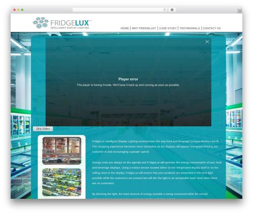 WP theme BLANK Theme - fridgelux.com