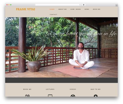 WP theme Genesis - frankvitai.com