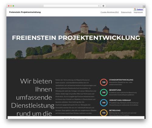 Zerif Lite WordPress theme free download - freienstein.com