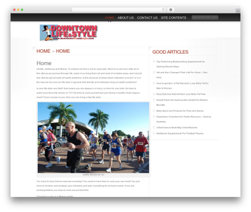 Delicate News best WordPress magazine theme - downtownlifeandstyle.com