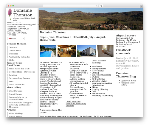 Free WordPress Grid Columns plugin - domainethomson.com