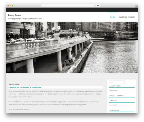 Formation template WordPress free - darcybaker.com