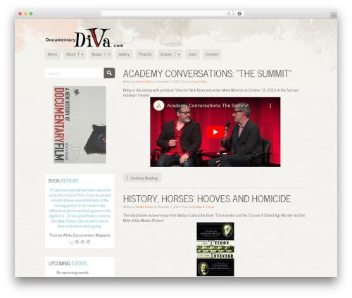MiCasa theme WordPress - documentarydiva.com