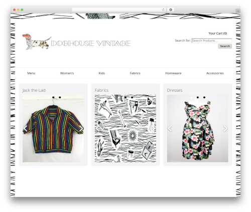 SmartShop WordPress ecommerce theme - doghousevintage.co.uk