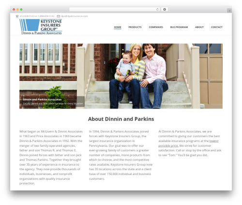 Template WordPress Jupiter - dpainsurance.com
