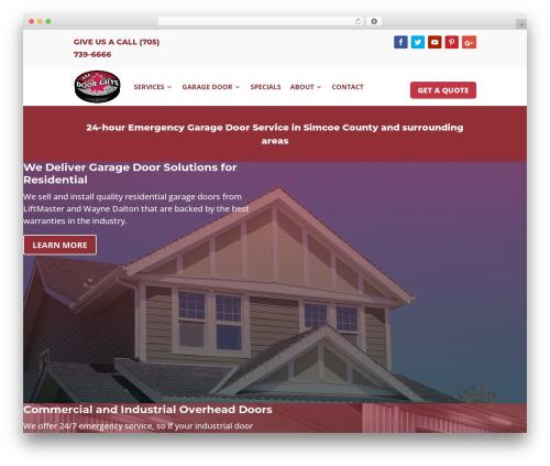 WordPress xbrowser-compatibility plugin - doorguysinc.ca