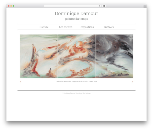 WordPress theme Twenty Thirteen Child - dominiquedamour.fr