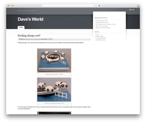 WP template Fusion - davewerld.com