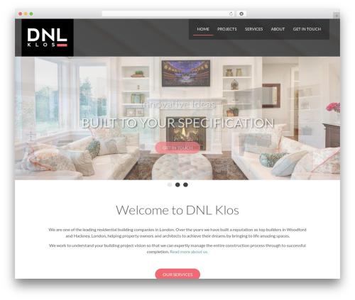 BLANK Theme best WordPress template - dnlklos.com