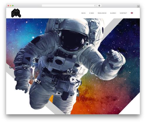 Bridge WordPress theme - dml-media.pl