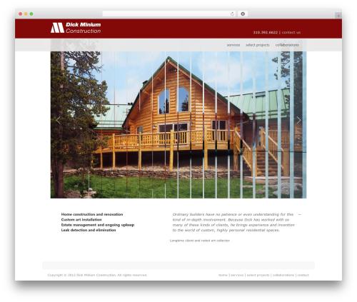 Perfekto top WordPress theme - dickminiumconstruction.com