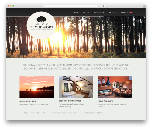 Template WordPress Glisseo - Responsive Multipurpose WordPress Theme - domaine-de-techemort.com