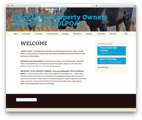 Twenty Thirteen WordPress template free - dorylakes.com