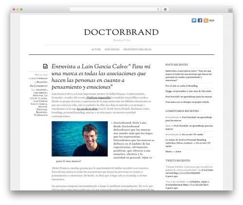WordPress template Elemin - doctorbrand.es