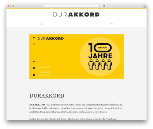 Free WordPress Youtube shortcode plugin - durakkord.de