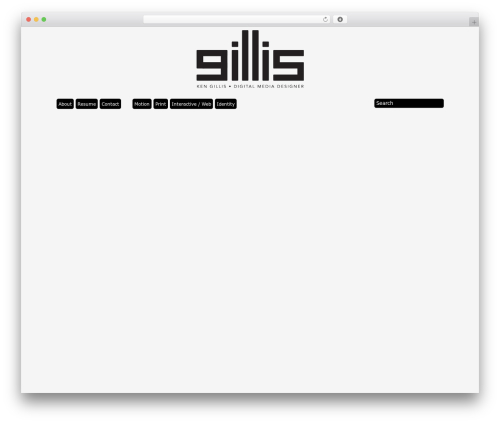 Best WordPress theme Grid Theme Responsive - kengillis.com