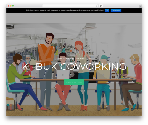 CoWorking best WordPress template - ki-buk.it/?password-protected=login&redirect_to=ki-buk.it