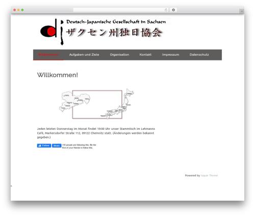 Isquar WordPress theme - djg-sachsen.de