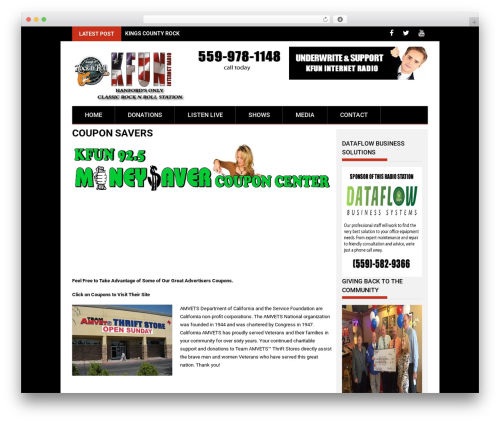 Free WordPress Shoutcast Icecast HTML5 Radio Player plugin