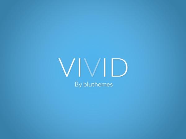 Vivid by Bluthemes WordPress blog theme
