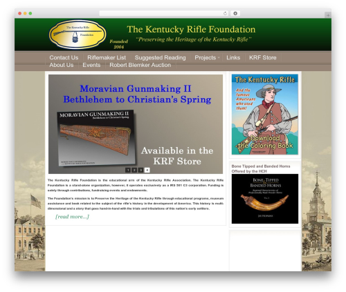WordPress theme Education Child Theme - kentuckyriflefoundation.org