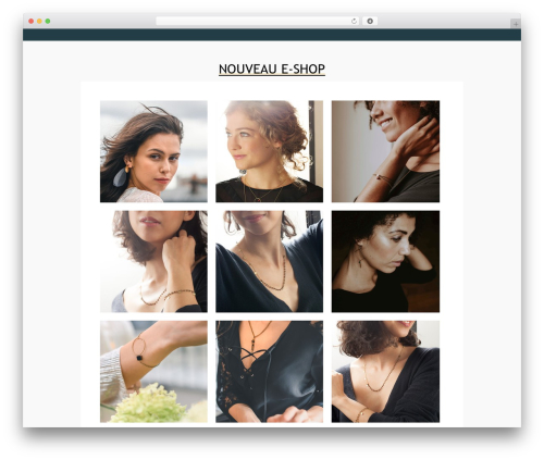 WordPress theme Pinnacle - dominiquedahan.fr
