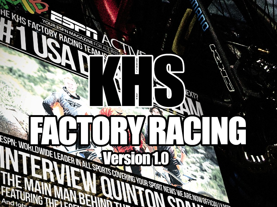 KHS Factory Racing version 1.0 WordPress theme