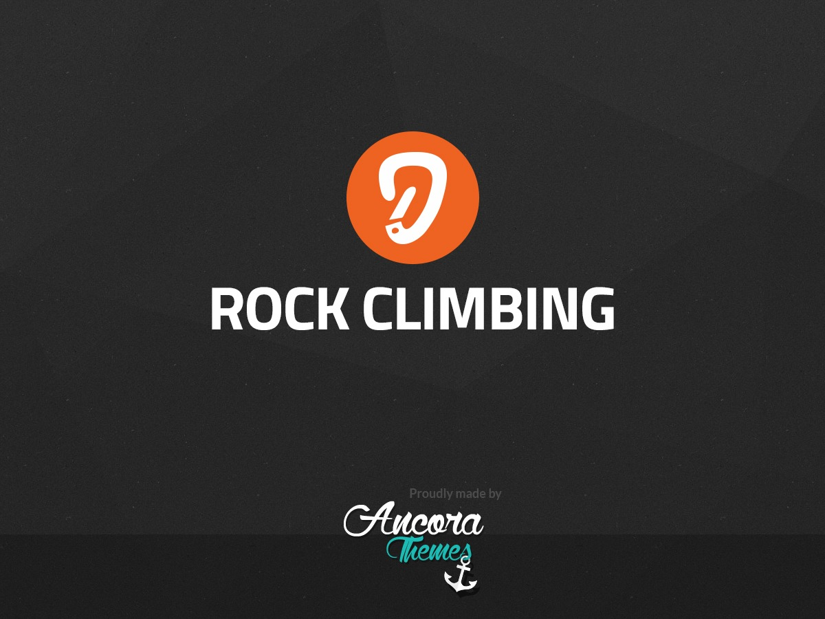 Template WordPress RockClimbing