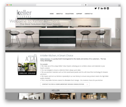 WordPress theme Elision - kellerkitchensus.com