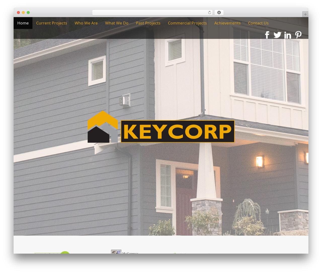Arcade Basic free website theme - keycorp.ca