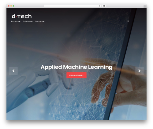 Businessx best free WordPress theme - dtechspace.com
