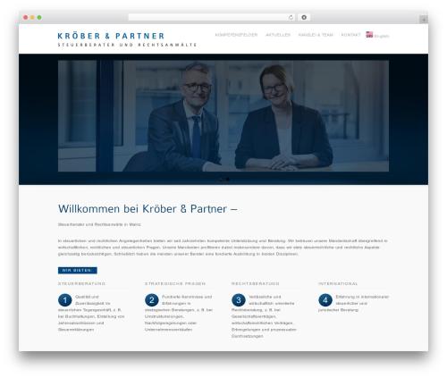 inFocus WordPress theme - kroeber-partner.de