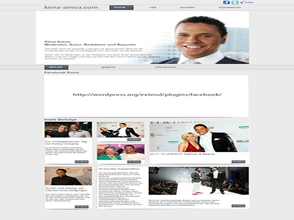 kenaamoa premium WordPress theme
