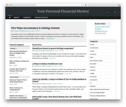 Opti template WordPress - kscripts.com
